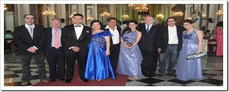 boda crisstofher toda la familia